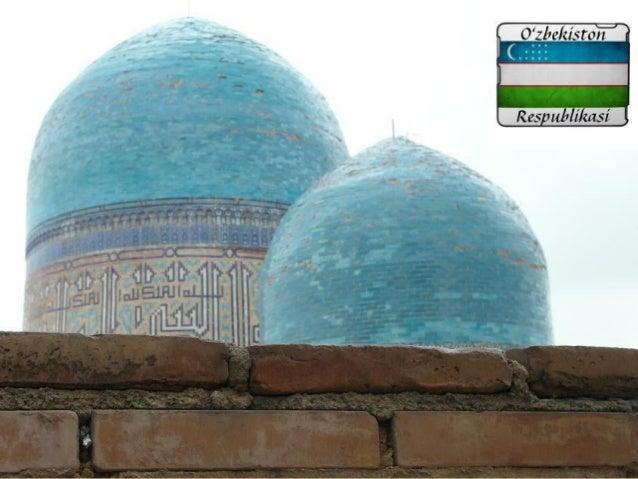 Uzbekistan is one of twodouble-landlocked countriesin the world