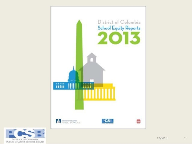 Charter School Performance and Growth Highlights   DC School Equity Reports 2013