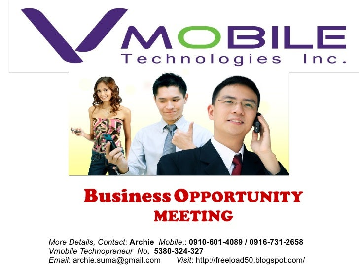 V.mobile loadxtreme presentation