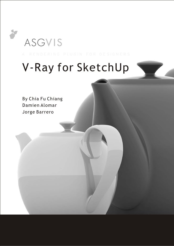 V Ray For Sketch Up 2007 Manual