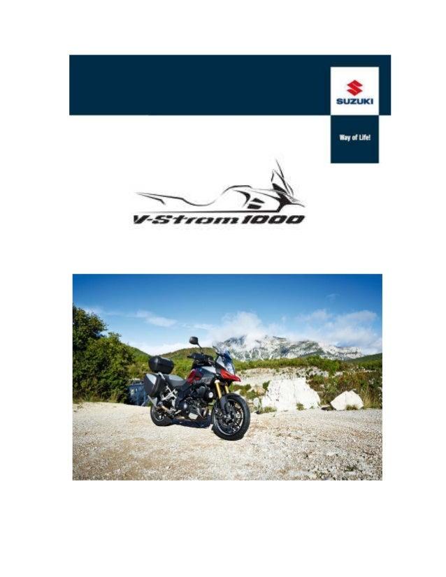 ACCESSORI V-STROM 1000 ABS DESCRIZIONE ARTICOLO  PREZZO (IVA Inclusa)  KIT PARAMANI NERO Certificazione europea WVTA  Euro...
