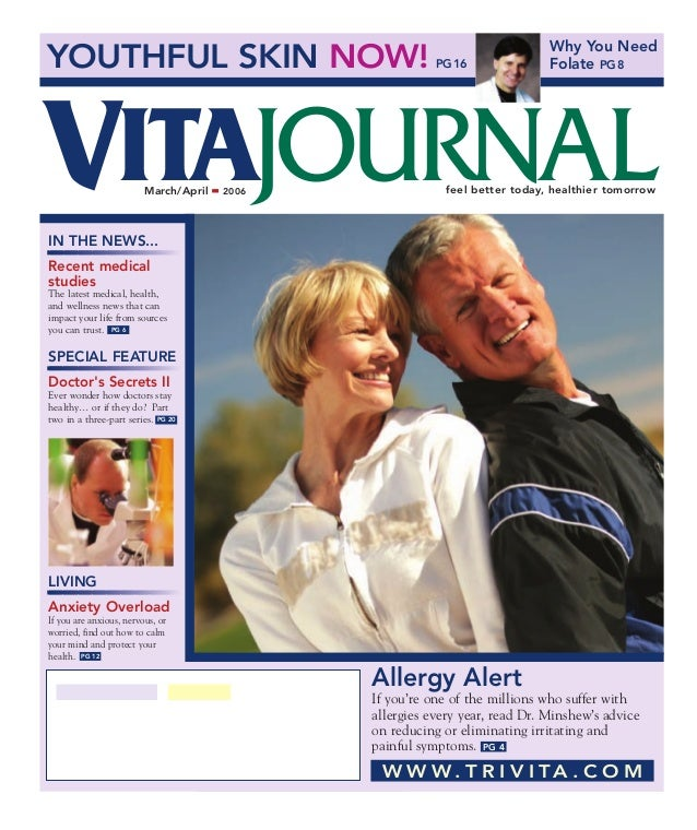 YOUTHFUL SKIN NOW! PG16Why You NeedFolate PG8IN THE NEWS...Recent medicalstudiesThe latest medical, health,and wellness ne...