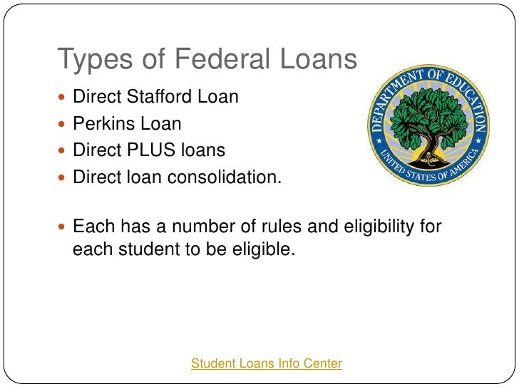 Federal Stafford Student Loans
