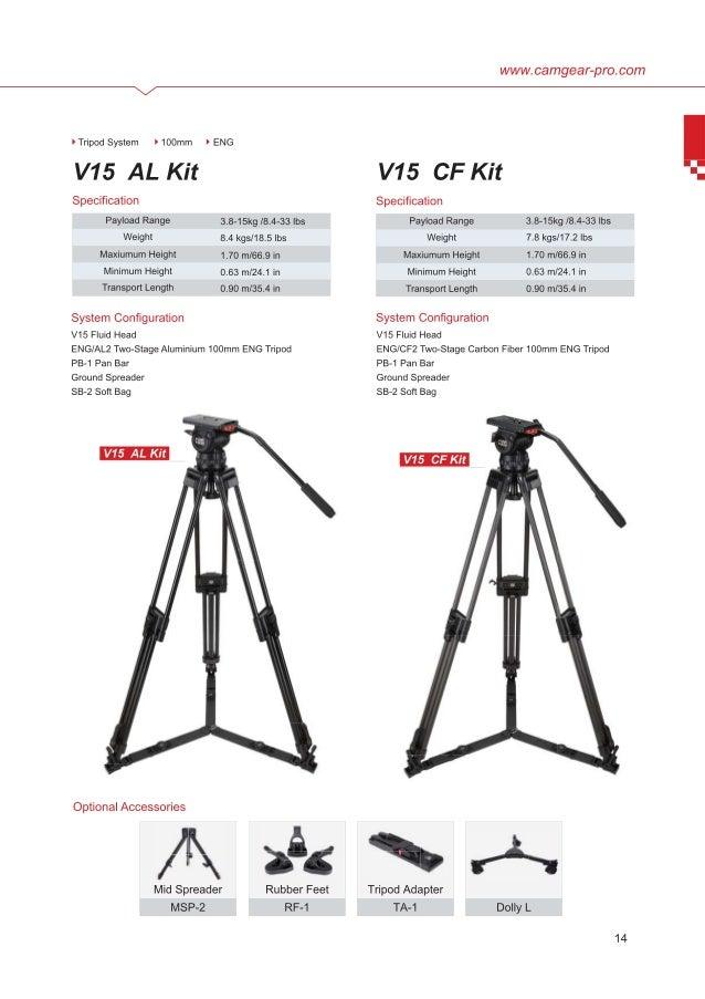 Camgear V15 AL & CF brochure