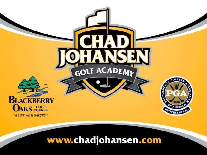 V1 Seminar - Chad Johansen Golf Academy