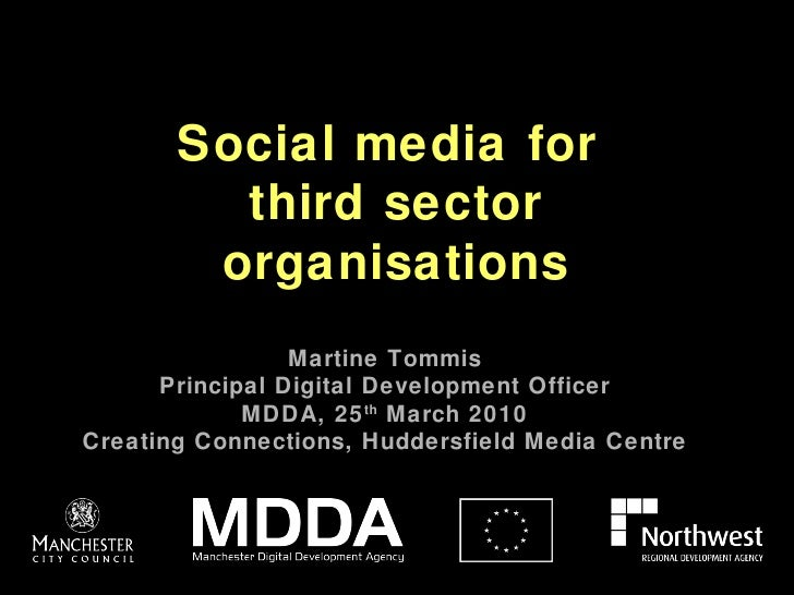 Social Media for the Third Sector