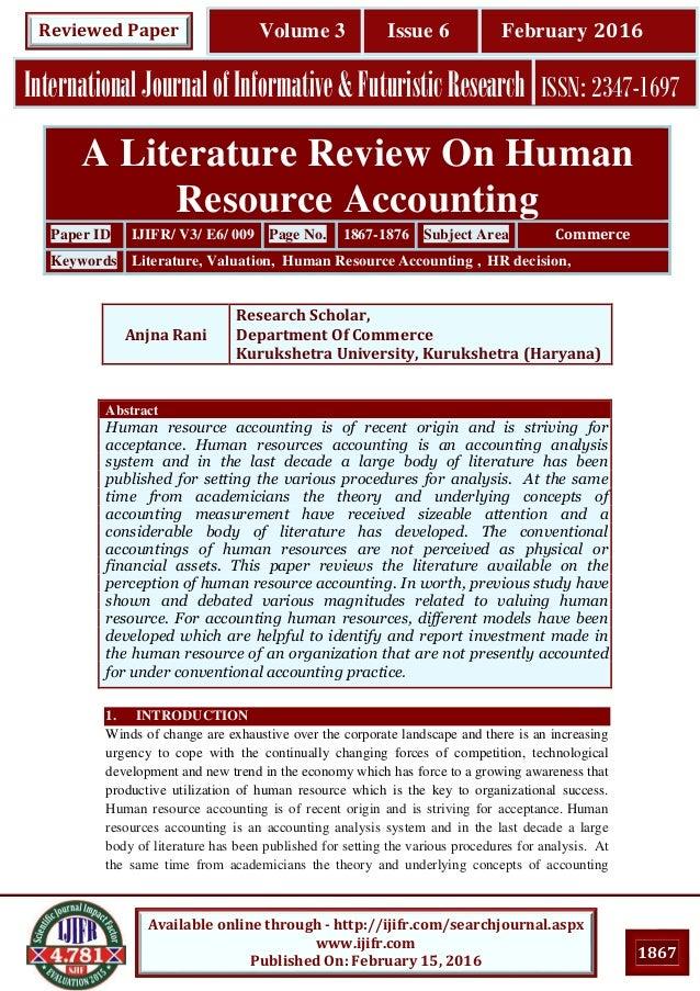 Thesis human resource