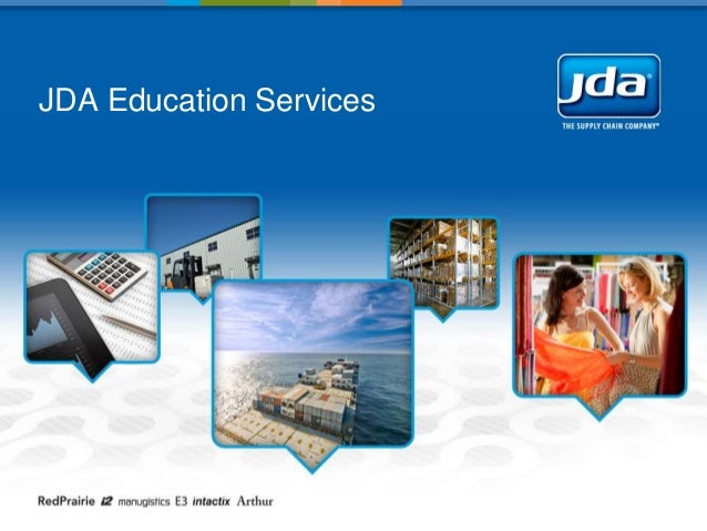Introduction to JDA Software Education Services