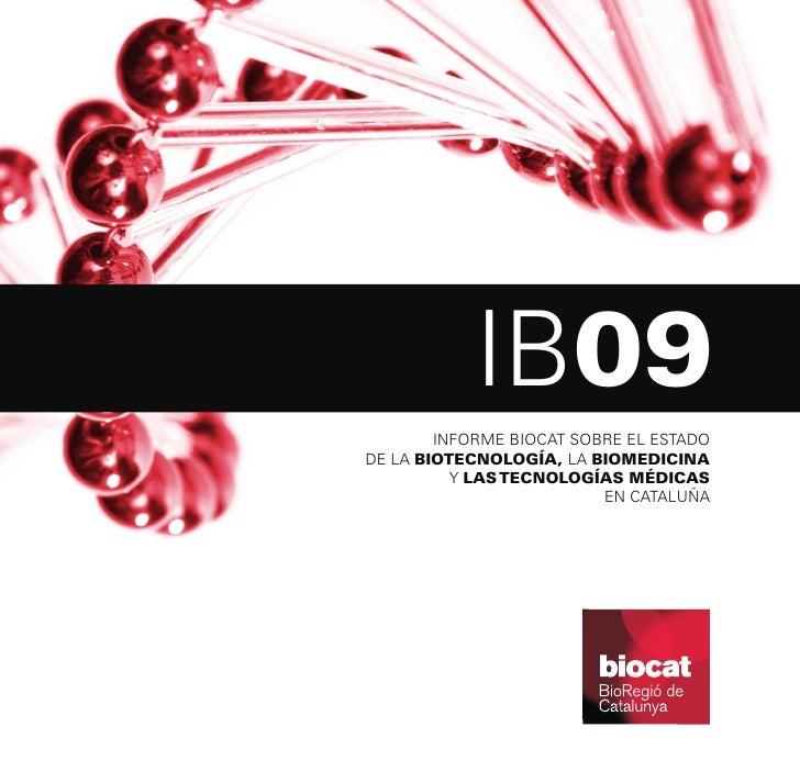 Informe Biocat 2009 (castellano)