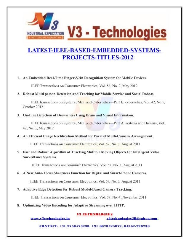 V3 technologies ieee2012