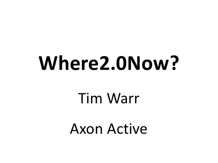 Where2now - AGI North