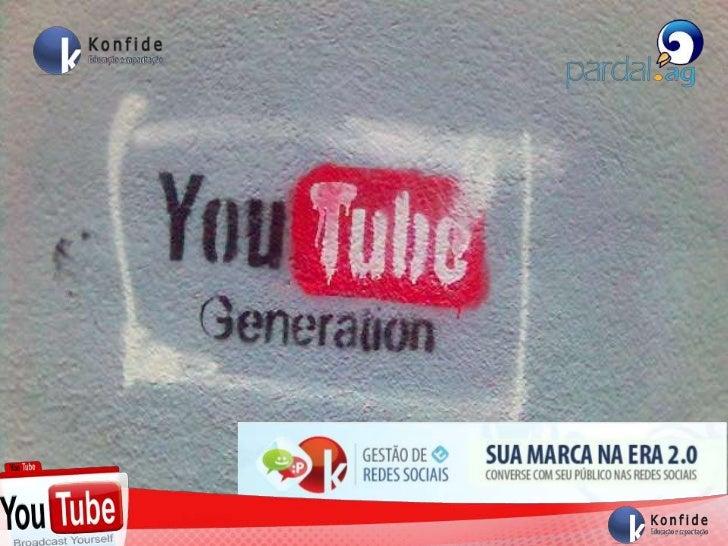 Gestão de Rede Sociais - Youtube