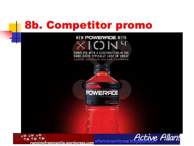 marketing plan for powerade In a nod to its own no 2 position in the sports-drink category, powerade is unveiling a new tagline and campaign that highlights underdogs and hard work group director of integrated marketing creative.