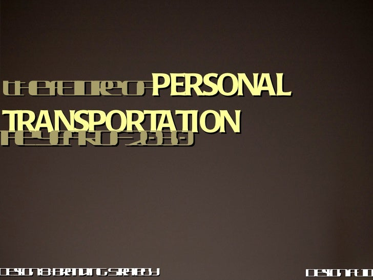 personaltransportation by som