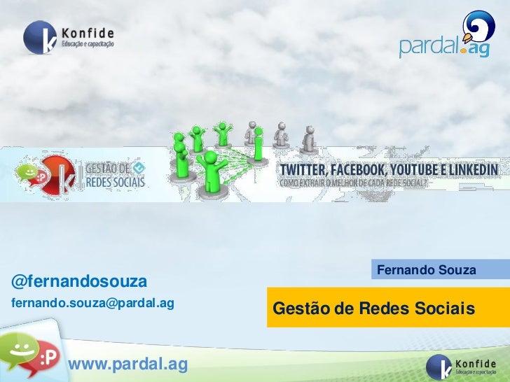 Curso Gestão de Rede Sociais - Introdução e tendências das Redes Sociais
