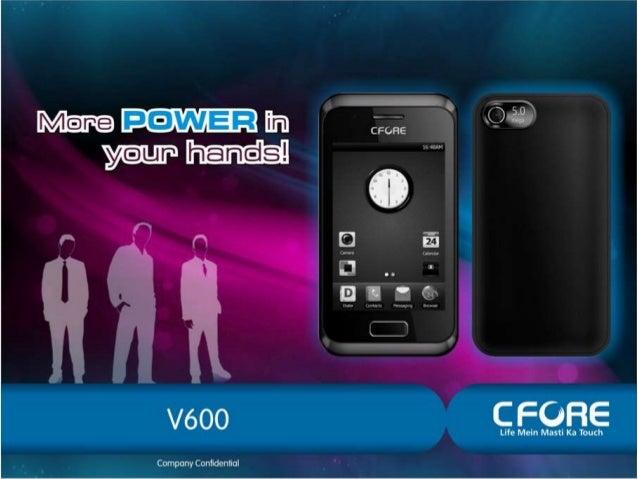 CFORE V600 MOBILE PHONE