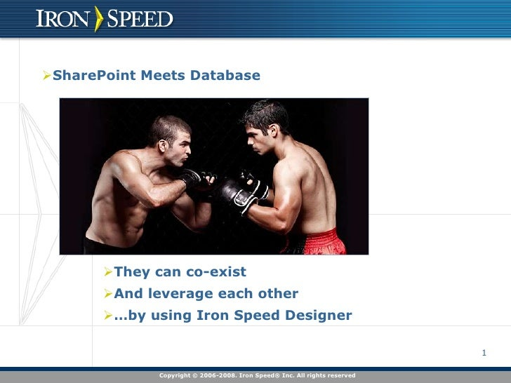 SharePoint Meets Database