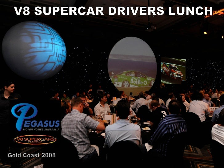 Gold Coast 2008 V8 SUPERCAR DRIVERS LUNCH