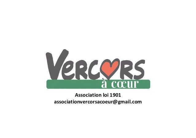 Association loi 1901associationvercorsacoeur@gmail.com