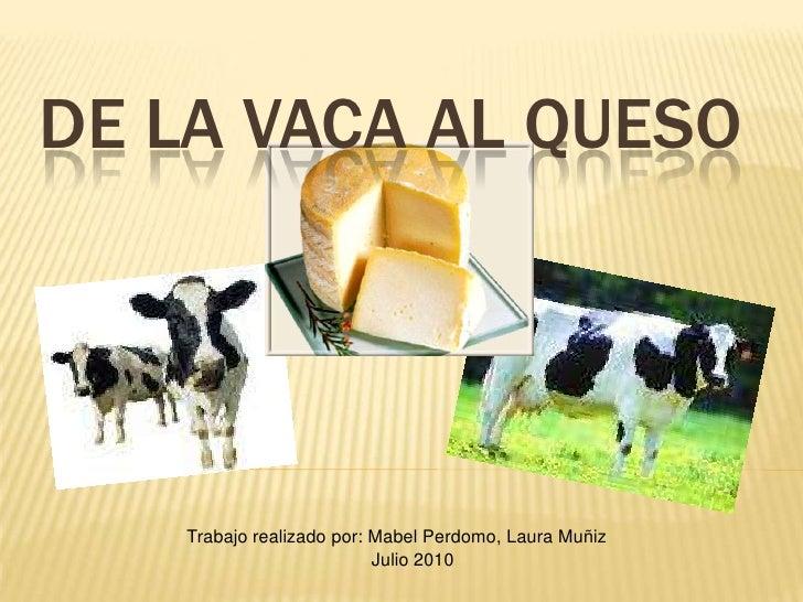 De la vaca al queso for De donde viene el marmol