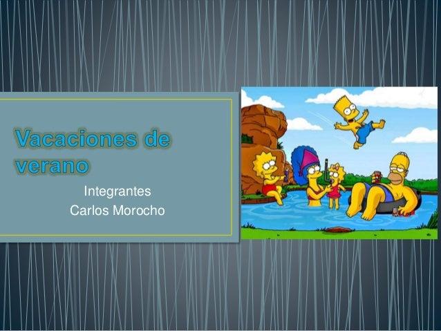 Integrantes Carlos Morocho