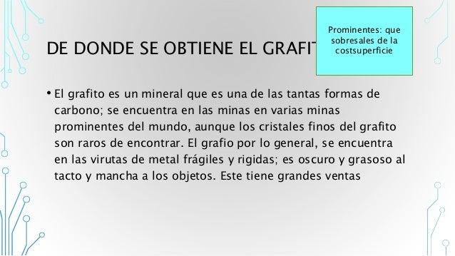 Materia prima l piz grafito for Como se obtiene el marmol