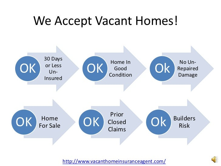 We Accept Vacant Homes!      30 Days                                   Home In                    No Un-OK     or Less    ...