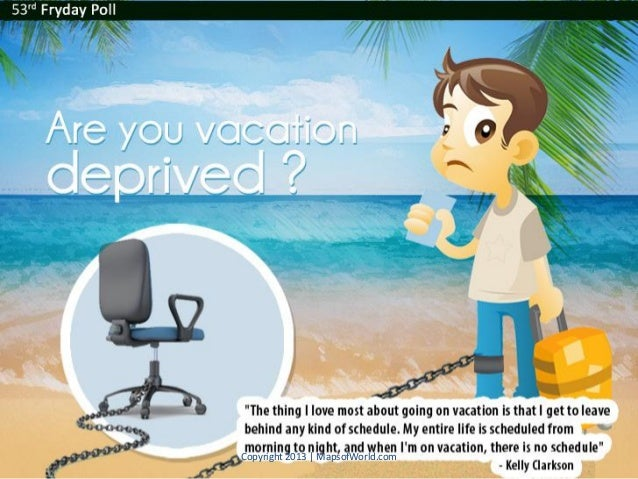 Are You Vacation Deprived? - Facts And Stats
