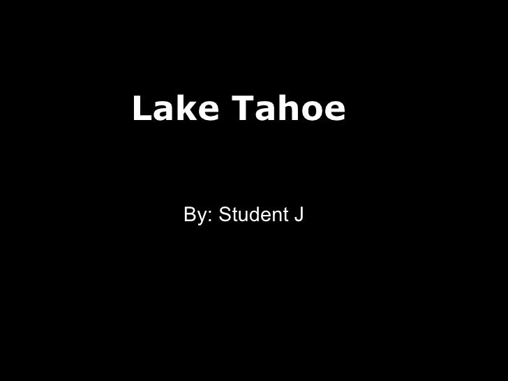 Vacation budget for lake tahoe