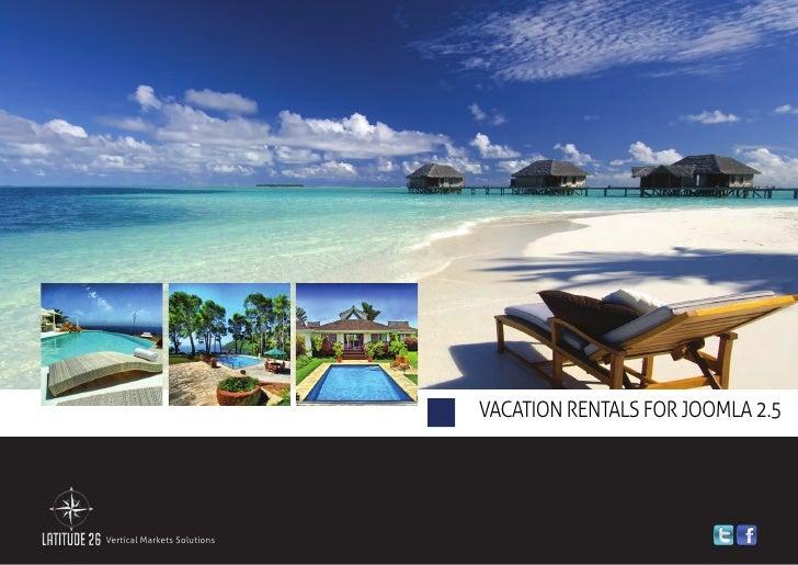 Vacation Rentals Solution for Joomla 2.5 - Brochure 2012