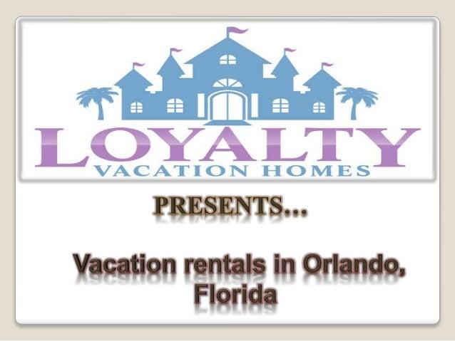 Vacation rentals in orlando, florida