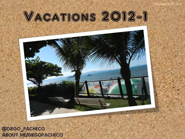 Vacations @ 2012 -1