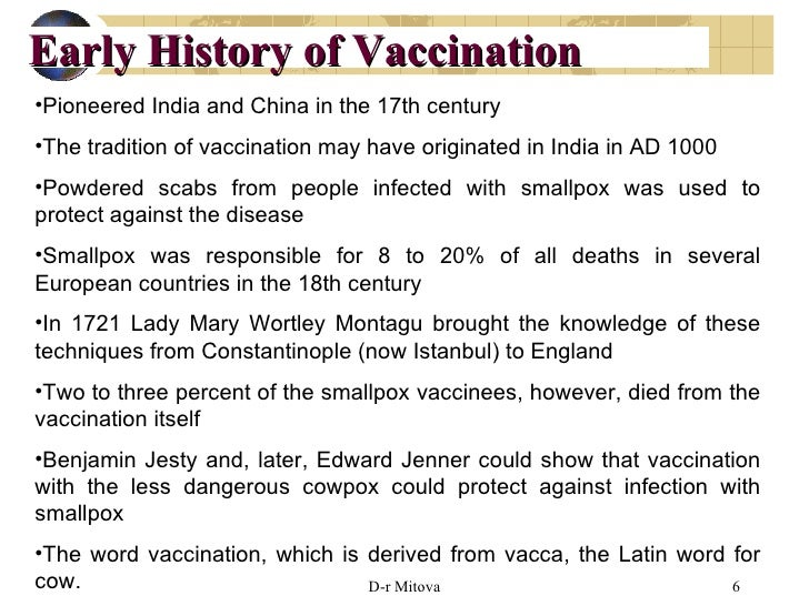 history of vaccines A history of vaccines cdc global annual reported measles cases and measles vaccine coverage, 1980 to 2013 source: who/ivb database, 2014 194 who member states date as of july 2014 path is the leader in global health innovation an international nonprofft organization.