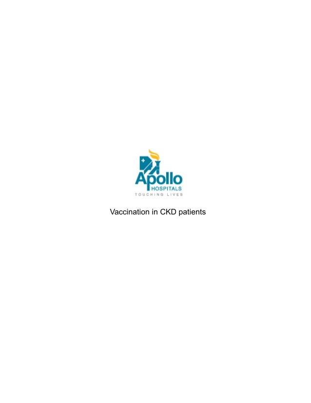 Vaccination in ckd patients