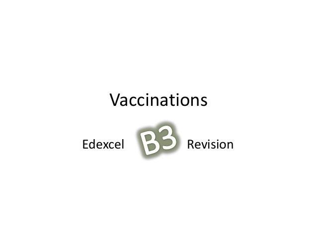 VaccinationsRevisionEdexcel