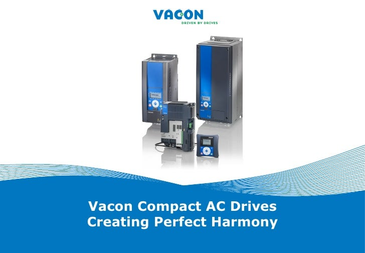 Vacon compact ac drives