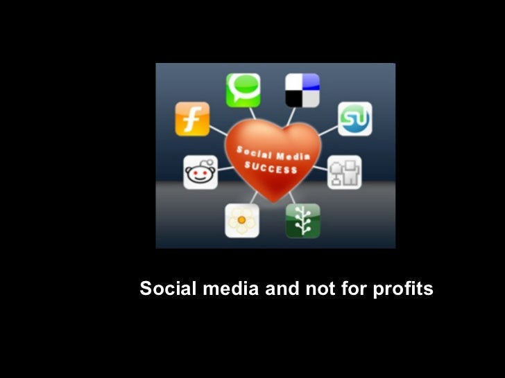 Social media and not for profits