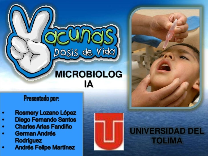 MICROBIOLOG     IA              UNIVERSIDAD DEL                  TOLIMA