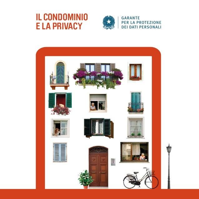 ILCONDOMINIO E LA PRIVACY