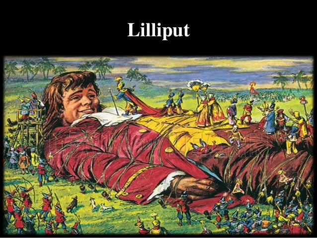 a literary analysis of gullivers travels by swift