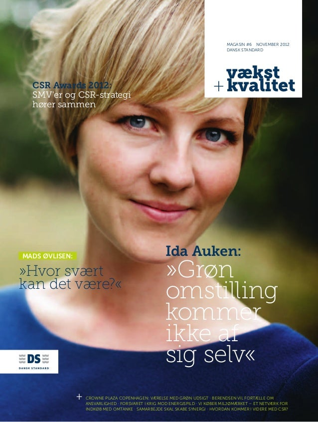 Vækst + kvalitet #6 - september 2012