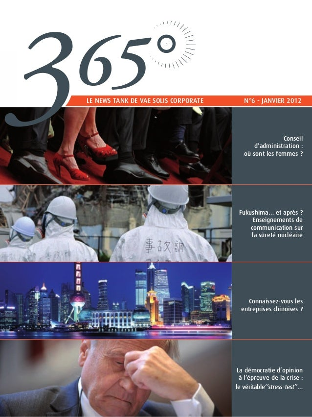 3   65    le news tank de vae solis corporateN°6 - Janvier 2012                                                          ...