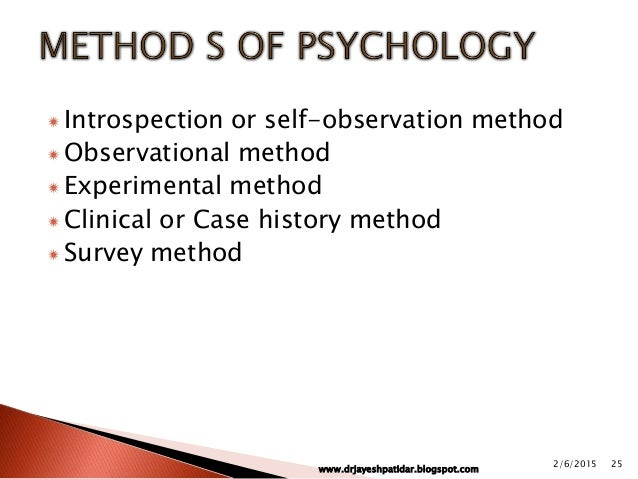 elementary psychology methods of experimental Prereq: elementary statistics psy 3213 research methods in psychology sop 3214c experimental social psychology (4 credits.