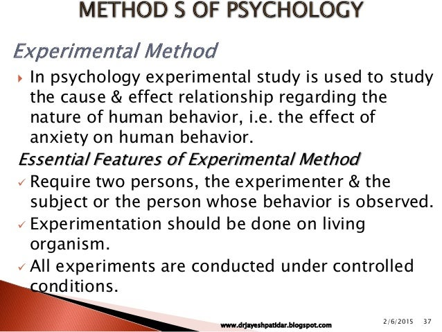 Psychology As A Science Seicom