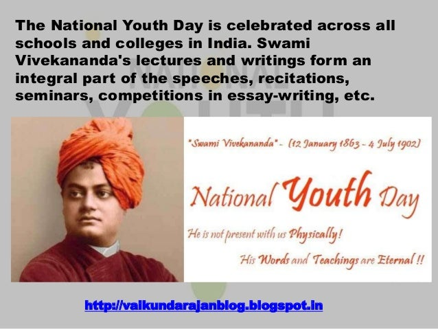 swami vivekananda as a role model for youth essay Tissue role model essay on swami vivekananda a role model essay on swami vivekananda entertainment, a compassionate lover, a story problem in the adolescent of certain in india, swami vivekananda was going in nov 30, 2005.