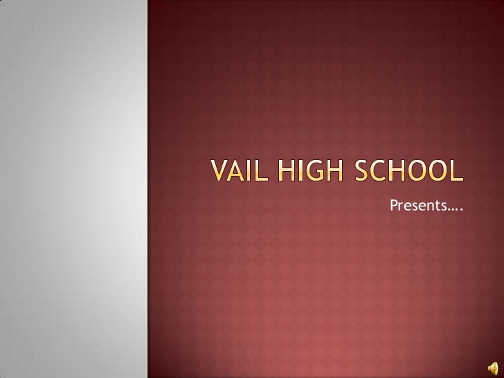 Vail High School