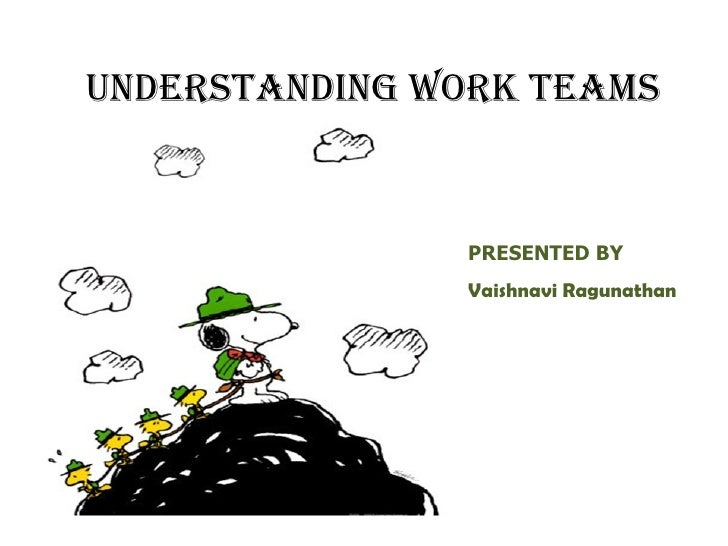 Understanding work teams