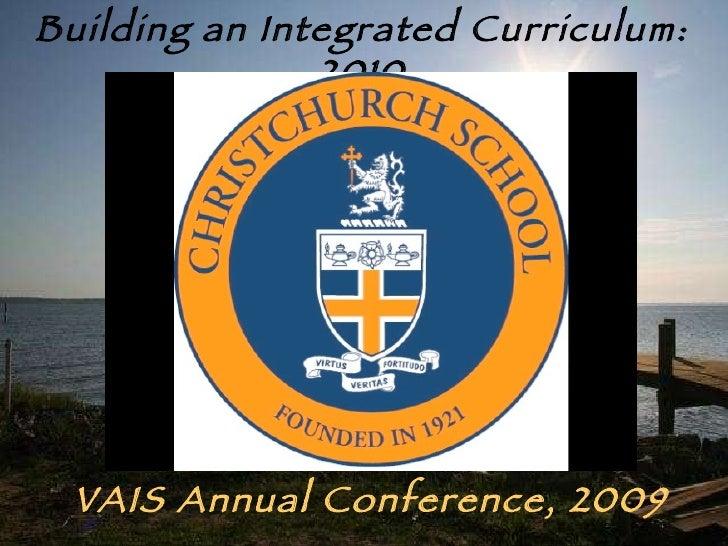 Building an Integrated Curriculum