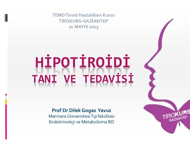 Vakalarla hipotiroidi