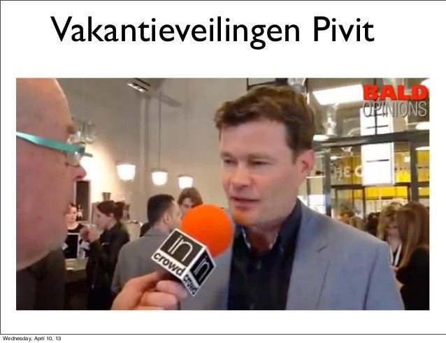 #Emesaconnect  presentatie Vakantieveiling .nl